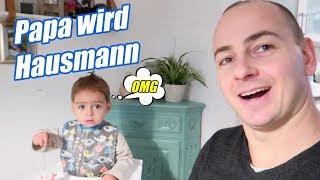 Papa wird Hausmann - Familien Alltag - #Vlog 1063 Rosislife
