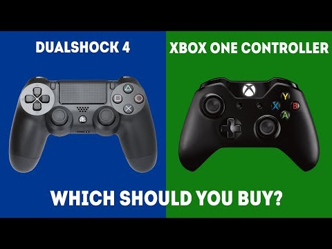 DualShock 4 vs XBOX One S Controller [2020] - Which Controller WINS?