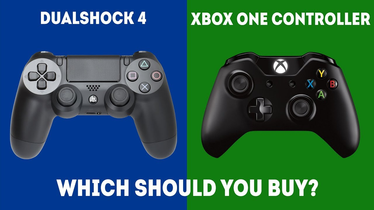 DualShock 4 vs XBOX One S Controller [2019] - Controllers