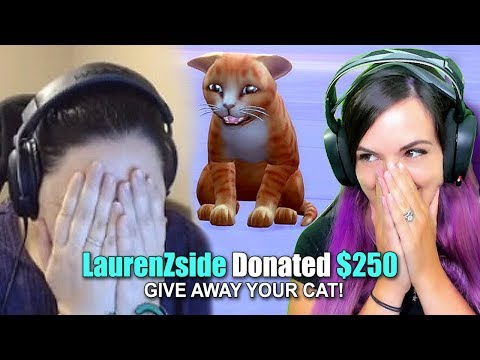 I Donated $250 For Her to GIVE AWAY HER CAT