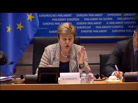 Commissioner Georgieva updates the European Parliament on the Syria Crisis