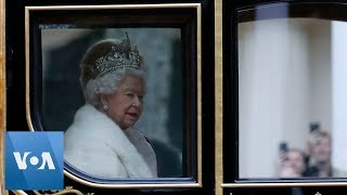 With Brexit Looming, Britain's Queen Elizabeth Travels to Parliament for Speech