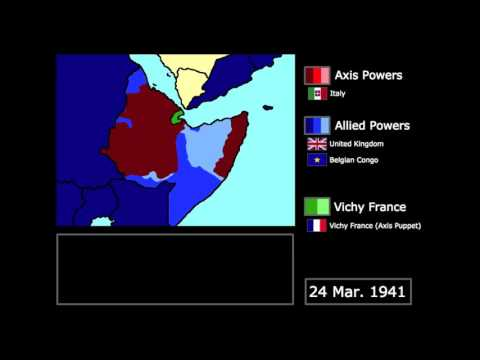 [WWII] The East African Campaign (1940-1941): Every Week