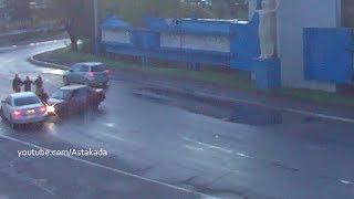 Astakada Находка ДТП Драка Таран 28 сентября 2018 Находкинский проспект