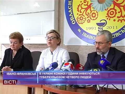 В Україні щогодини інфікується туберкульозом 4 людей
