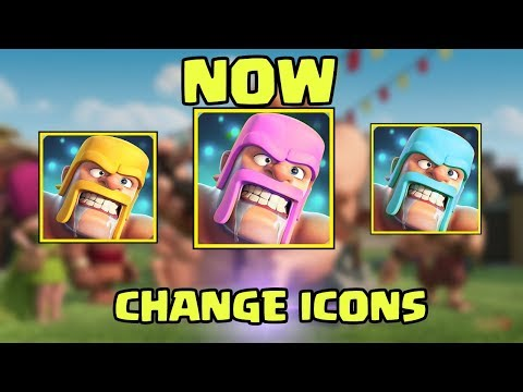 CHANGE COC ICONS | HOW TO DO THIS?? | FULL TRICK REVEAL | CLASH OF CLANS