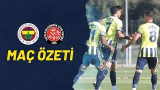MAÇ ÖZETİ: Fenerbahçe 2-2 Fatih Karagümrük