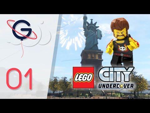 LEGO CITY UNDERCOVER : MODE LIBRE FR #1 - Lady Liberty Island !