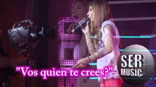 Rocio Quiroz - Vos Quién Te Creés - Vivir Soñando Ser Music 2015