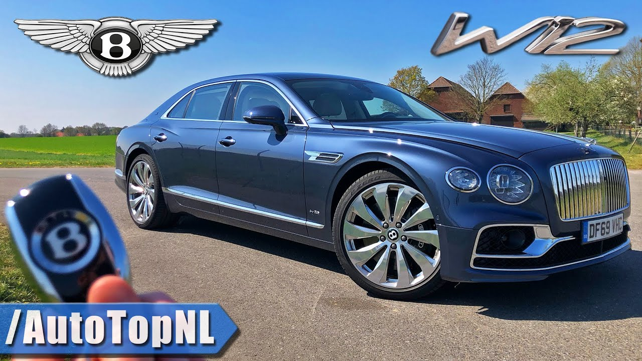 Bentley Flying Spur W12 REVIEW *330KM/H* on AUTOBAHN [NO SPEED LIMIT!] by AutoTopNL