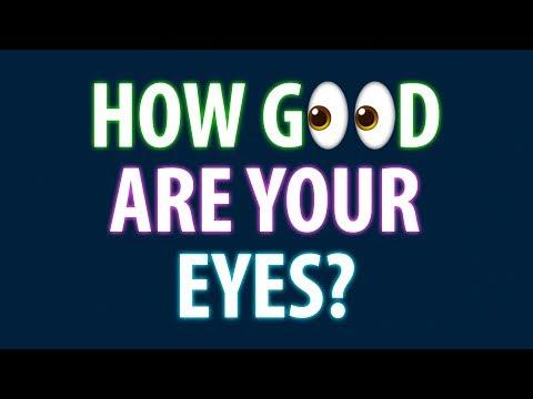 How Good Are Your Eyes? 94% Fail