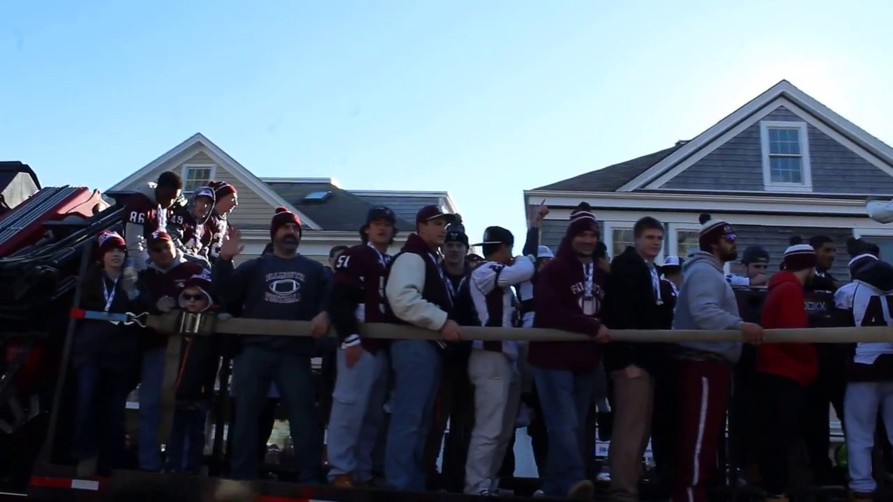 Super Bowl-winning Falmouth High School Clippers in Christmas ...