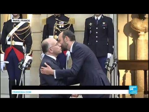 REPLAY - Passation de pouvoirs entre Bernard Cazeneuve et Edouard Philippe, nouveau Premier ministre