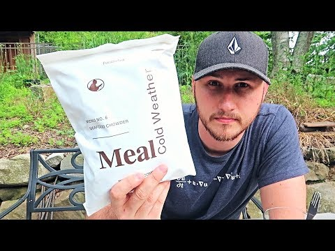 Testing US Cold Weather MRE (Meal Ready to Eat)
