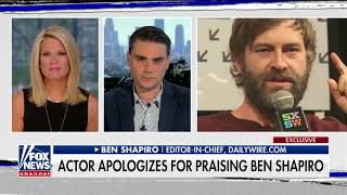 'Mob Mentality': Actor Apologizes After Backlash for Support of Ben Shapiro