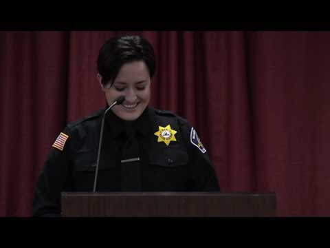 North Idaho College Basic Patrol Academy Commencement December 2018