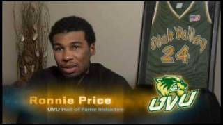 Ronnie Price Documentary courtesy of UVU