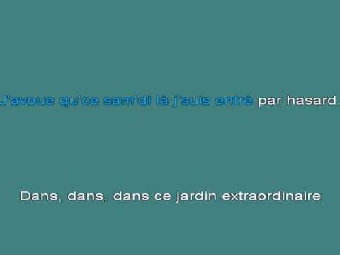 Le Jardin Exrtraordinaire [karaoke]