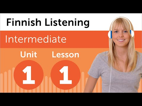 Finnish Listening Practice - Looking At Apartments in Finland