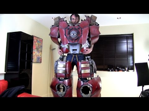 XRobots - Iron Man Hulkbuster Cosplay Part 49, I CAN WALK!!!
