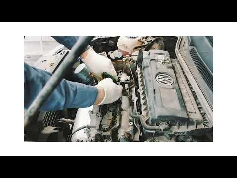 Автосервис ЛЕОТЕХ // Volkswagen Polo Замена свечей