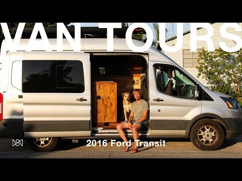 Van Tours: Photographer Ben Moon's 2016 Ford Transit