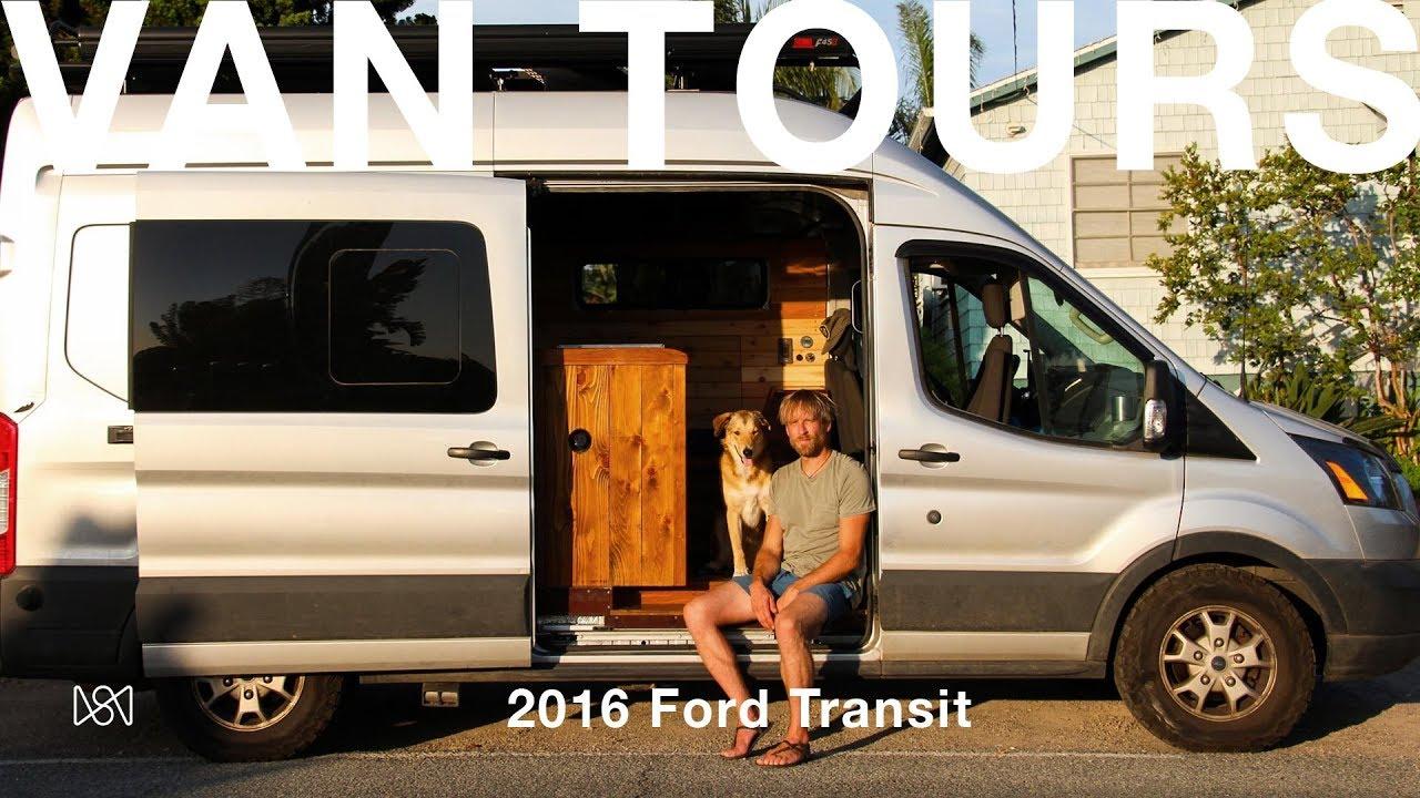 Van Tours Photographer Ben Moon S 2016 Ford Transit