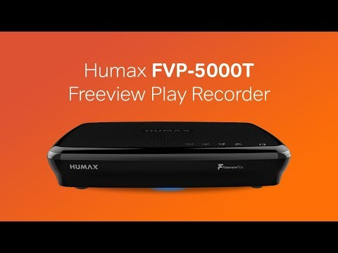 Humax FVP-5000T Freeview Play HD Recorder