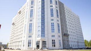 Завершающий этап строительства нового общежития