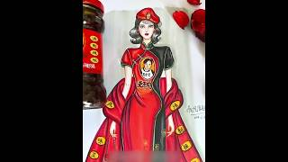 A Chinese fashion designer draws her inspirations from daily snacks