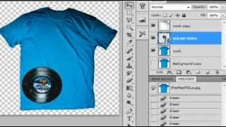 How to make REALISTIC Tshirt Mock ups & Templates for sites like THREADLESS PHOTOSHOP  CS5,CS6