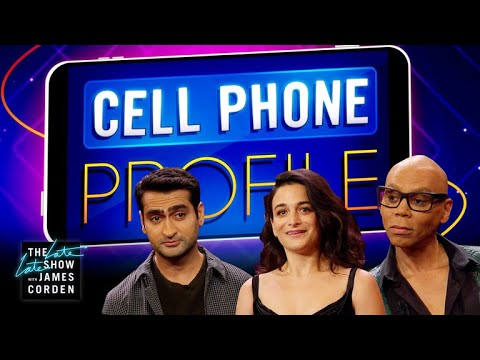 James Invades RuPaul, Jenny Slate & Kumail Nanjiani's Cell Phones