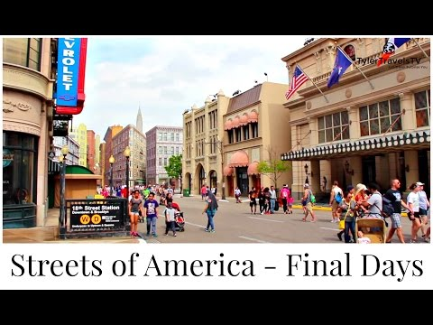 Streets of America | A Final Walk Through | 4K HD