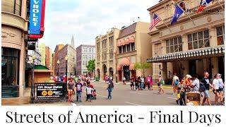 Streets of America | A Final Walk Through | 4K HD