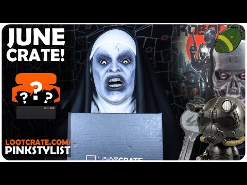 Loot Crate - Unboxing - Dystopia! - June 2016