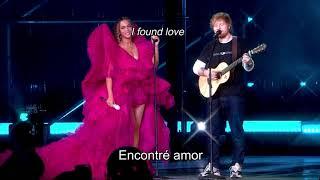 Perfect Duet - Ed Sheeran & Beyoncé (Live) // español + lyrics