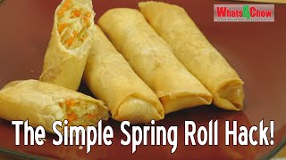 The Simple Spring R๐ll Hack - How to Make Consistently Better Spring Rolls - Spring Roll Recipe