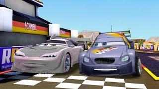 Boost Vs Max & Francesco Bernoulli Disney PIXAR Cars Racing Game Play
