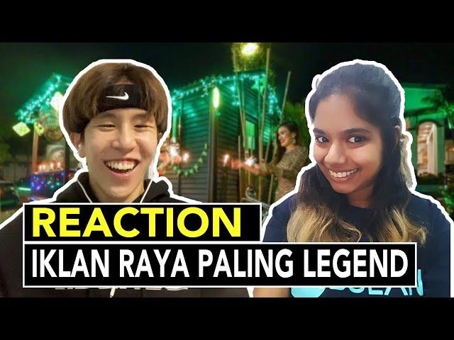 [REAKSEE] Bila Non-Malay Tengok Iklan Raya Legend.. Menangis Beb!