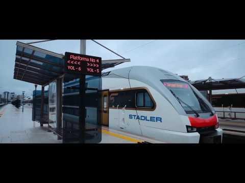 Бакинский Железнодорожный вокзал L Bakı Dəmir Yolu Vağzalı L New Railway Station Baku 2017