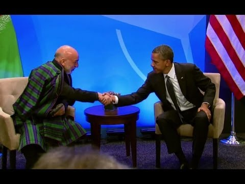 President Obama's Bilateral Meeting with President Karzai of Afghanistan