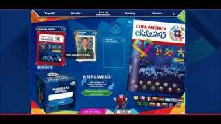 [Review + Codes] Sticker Álbum Online Virtual Copa América Chile 2015 Panini +  CODIGOS!