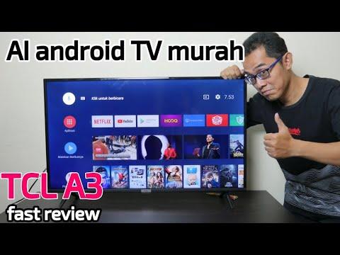TCL A3 - AI Android TV Murah Tapi Wah