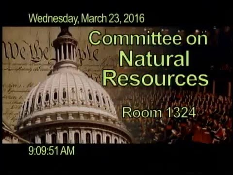 3/23/16 Energy and Mineral Resources Opening Statement