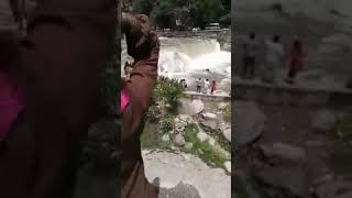 Neelum Valley #Kuttan bridge collapse video....