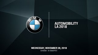 homepage tile video photo for BMW AUTOMOBILITY LA 2018 Live