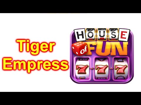 HOUSE OF FUN Casino Slots Game How To Play TIGER EMPRESS On A Cell Phone FREE