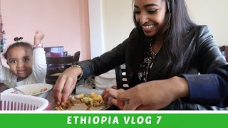 """Ethiopia Vlog 7 Our Morning Routine """"Breakfast at Mother's House"""" 