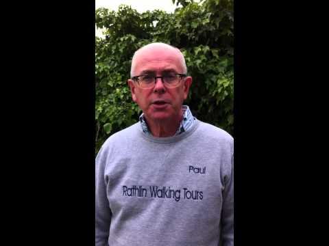 Paul talks about walks on Rathlin.