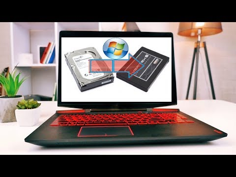 Как перенести Windows C HDD диска на SSD на Ноутбуке не теряя информацию и установленные программы